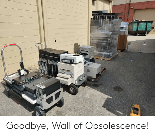 LOWES ODDW Ilititititititititli Goodbye Wall of Obsolescence