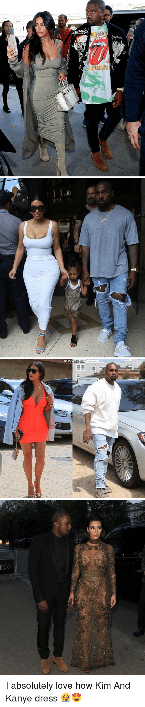 Funny, Kanye, and Love: luaOUO兰Bio   IKI  EDAILY   Tr  9 I absolutely love how Kim And Kanye dress 😭😍