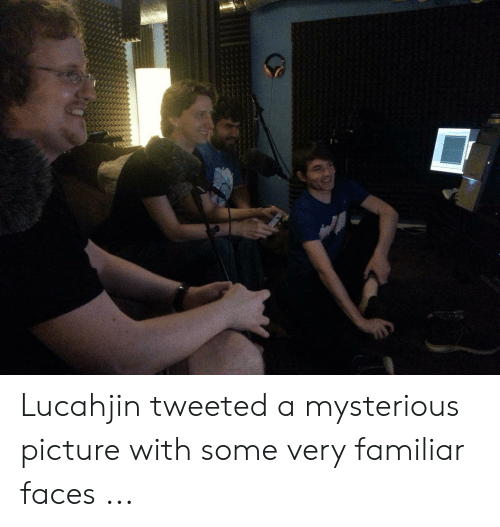 Lucahjin Tweeted A Mysterious Picture With Some Very Familiar Faces Picture Meme On Me Me Ask anything you want to learn about lucahjin by getting answers on askfm. meme
