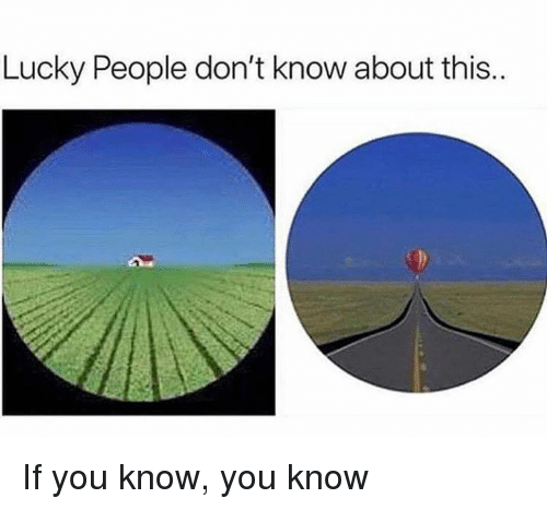 Memes, 🤖, and You: Lucky People don't know about this. If you know, you know
