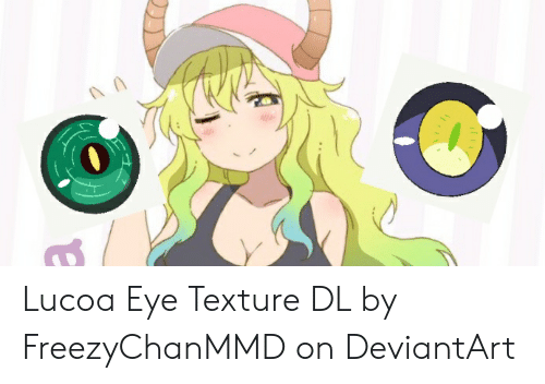 Lucoa Eye Texture DL by FreezyChanMMD on DeviantArt