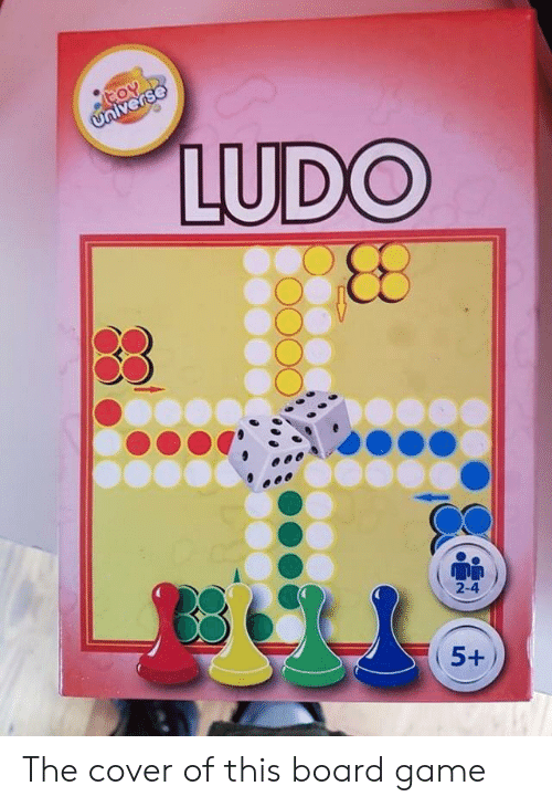 LUDO 5+ the Cover of This Board Game | Game Meme on ME ME