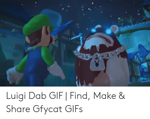 Luigi Dab Gif Find Make Share Gfycat Gifs Gif Meme On