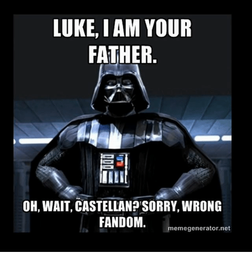 luke iam your father oh wait castellanosorry wrong fandom meme 22921757 ✅ 25 best memes about i am your father meme i am your father memes