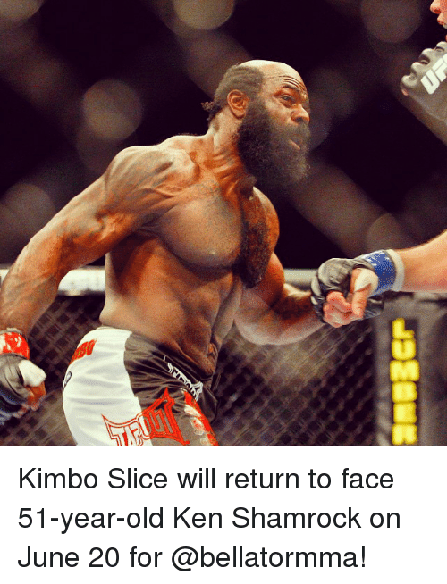 lumber p kimbo slice will return to face 51 year old ken 2447903 ✅ 25 best memes about ken shamrock ken shamrock memes