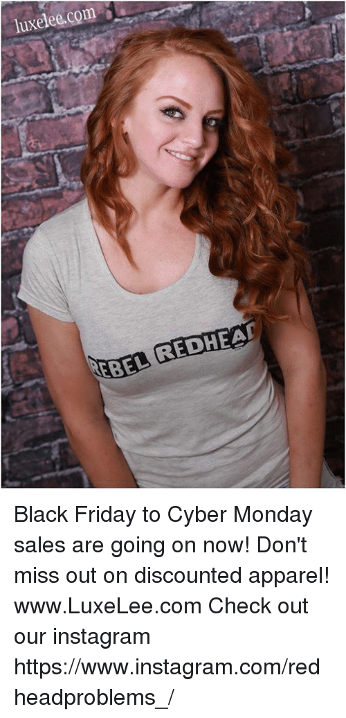 luxelee com redhead ere black friday to cyber monday sales are 7422617 luxeleecom redhead ere black friday to cyber monday sales are going