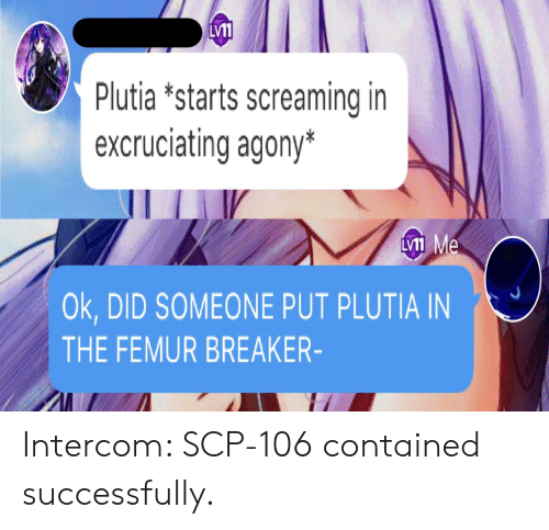 LV11 Plutia *Starts Screaming in Excruciating Agony* LVI1 Me