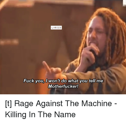 Rage against the machine fuck you images 22