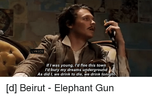 Beirut Elephant Gun Chords The Best Elephant Of 2018