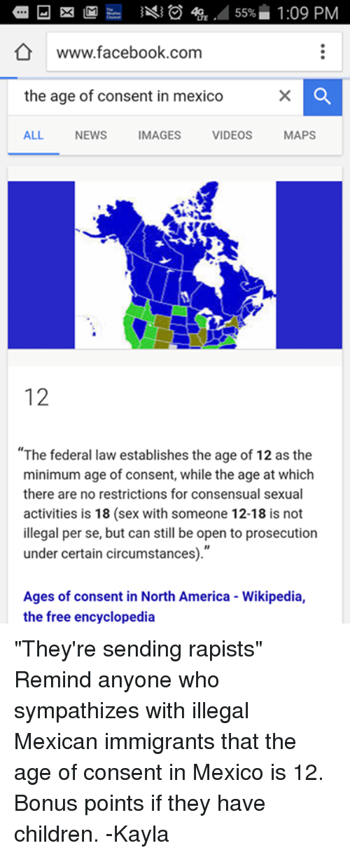 What is the age of consent in mexico