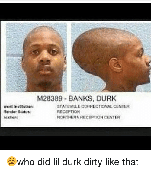 M28389 Banks Durk Stateville Correctional Center Arent Institution
