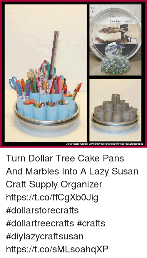 Lazy Memes And Blogspot MA Cake PanUSA 3 YEAR Dollar Store Crafter