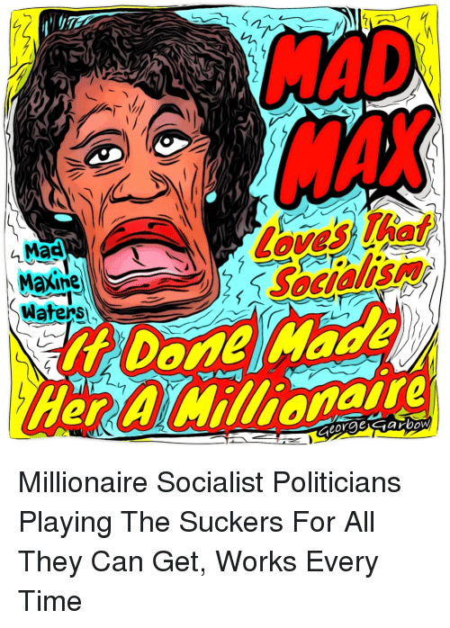 Politics, Time, and Mad: MAD  2  Mad  Maxine  Watens  rAWilionaire
