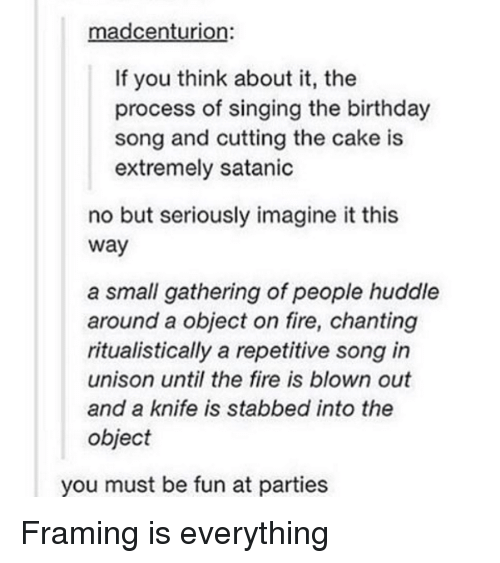 You Must Be Fun At Parties