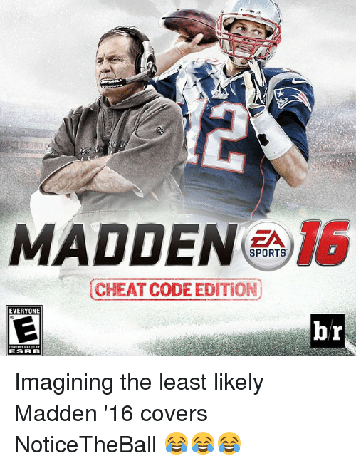 <b>MADDEN 16</b> SPORTS <b>CHEAT CODE</b> EDITION EVERYONE Br ESRB Imagining the ...