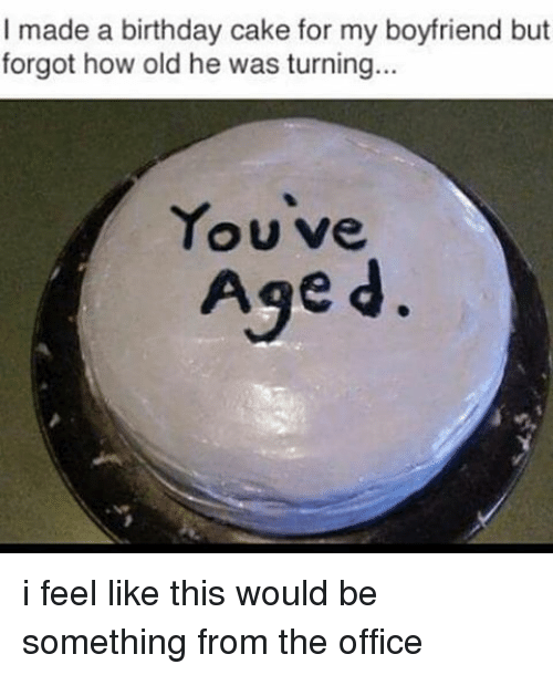 Made a Birthday Cake for My Boyfriend but Forgot How Old He Was ...