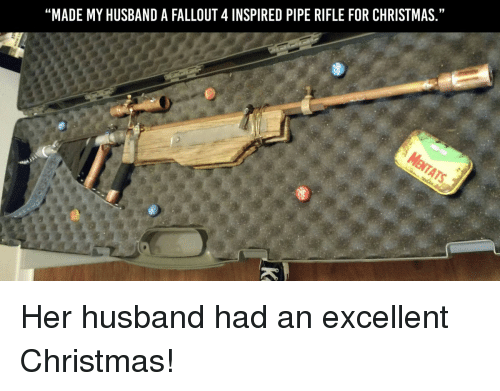 christmas fallout 4 and video games made myhusband a fallout 4 inspired - What To Buy My Husband For Christmas