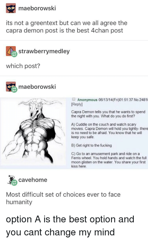Maeborowski Its Not A Greentext But Can We All Agree The