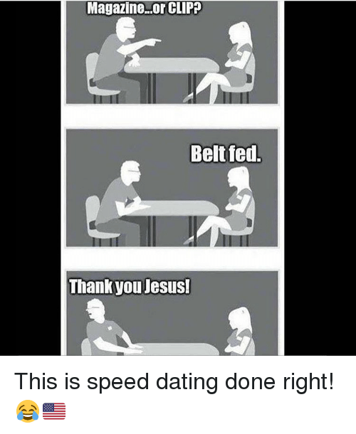 style magazine speed dating