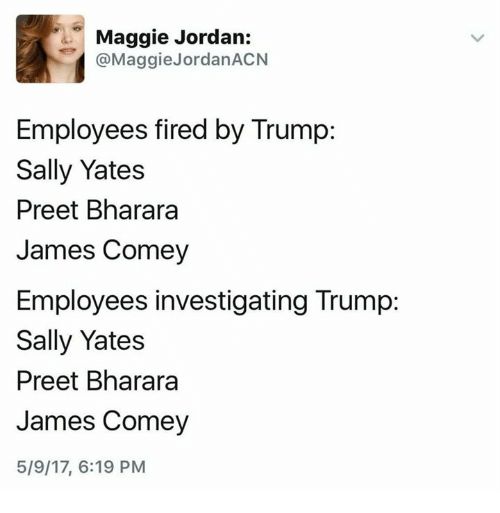 Image result for Preet Bharara Fired