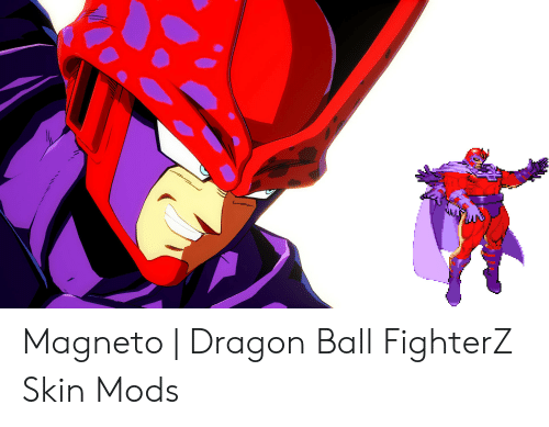 Magneto | Dragon Ball FighterZ Skin Mods | Dragon Ball Meme on ME ME