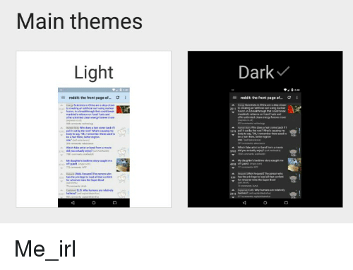 Main Themes Light Reddit the Front Page of Dark Reddit the