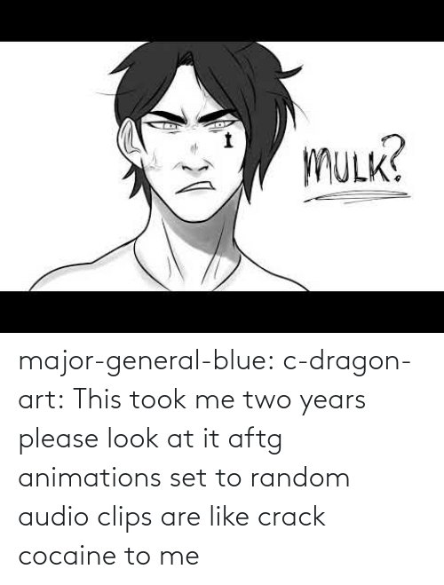 Target, Tumblr, and Blog: major-general-blue: c-dragon-art: This took me two years please look at it aftg animations set to random audio clips are like crack cocaine to me