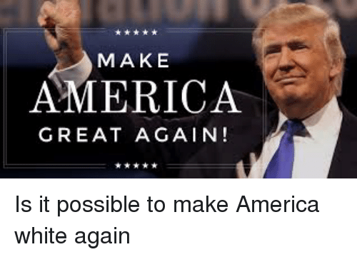 """the americans fight to make america great again 'make america mexico again': why americans are we used to fight wars his latest book is """"the deplorables' guide to making america great again."""