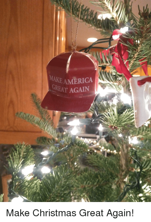 america christmas and make make america great again