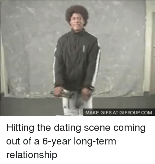 Dating after getting out of a long term relationship