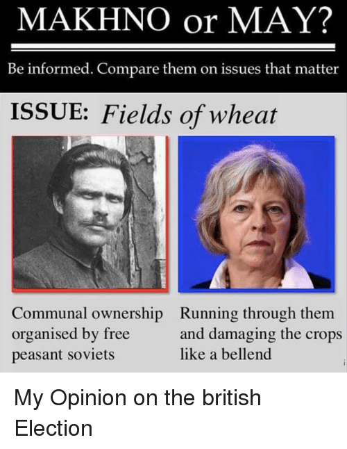 makhno or may be informed compare them on issues that 22401954 makhno or may? be informed compare them on issues that matter issue