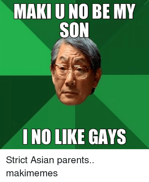 Ones Parents About Dating Are Strict Asian Luke