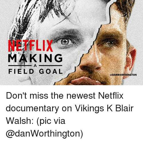 MAKING FIELD GOAL Don't Miss the Newest Netflix Documentary on