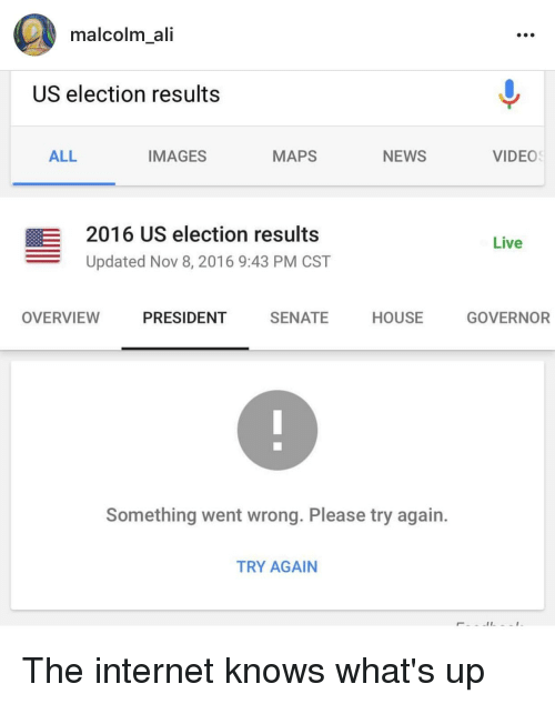 Malcolm Ali US Election Results ALL IMAGES NEWS MAPS E 2016 US ...