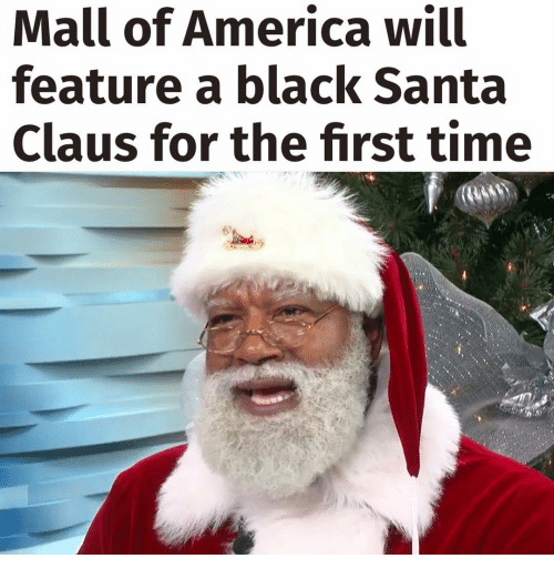 Memes, Santa Claus, and 🤖: Mall of America will  feature a black Santa  Claus for the first time