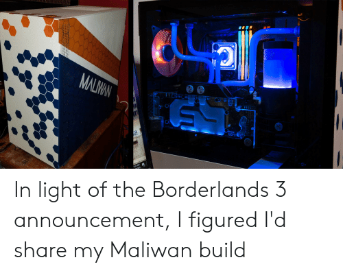 MALW GEFO 1121 AM in Light of the Borderlands 3 Announcement