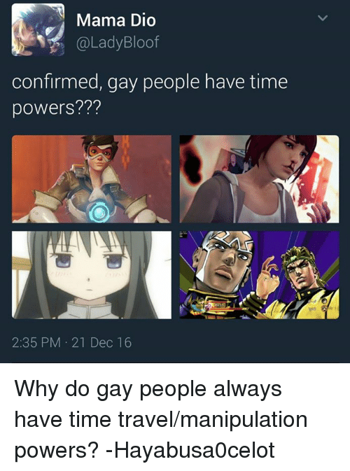 Why are gay people gay