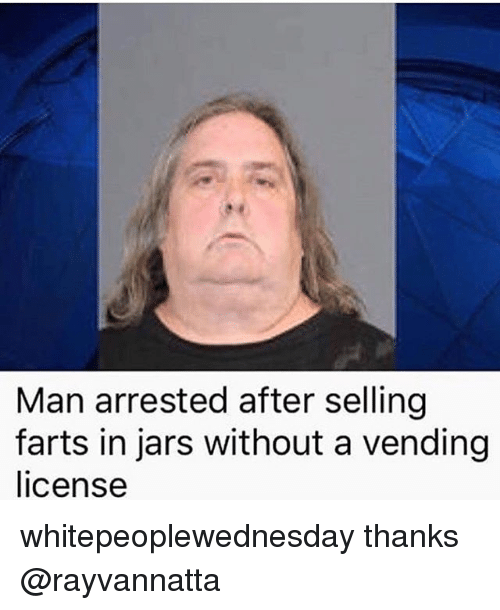 Man puts jar in ass