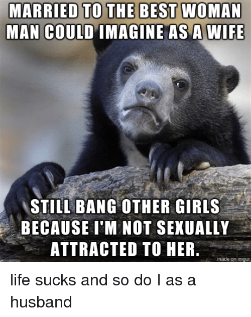 Wife not sexually attracted to me
