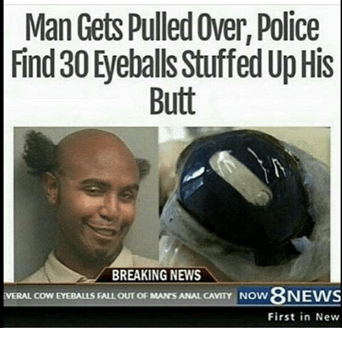 Pulled over and anal