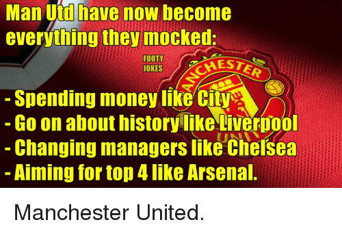 Man City Funny: 25+ Best Memes About Arsenal Manchester United