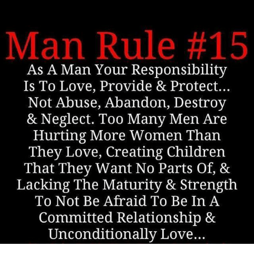 Men afraid of relationships