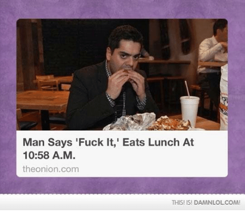 Fuck at lunch