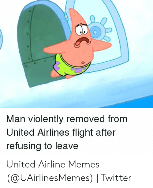 Man Violently Removed From United Airlines Flight After