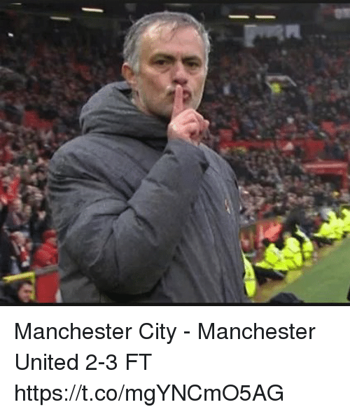 Memes, Manchester United, and Manchester City: Manchester City - Manchester United 2-3 FT https://t.co/mgYNCmO5AG