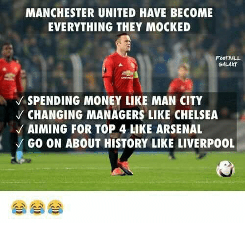manchester united have become everything they mocked football galaxy v 10241751 manchester united have become everything they mocked football