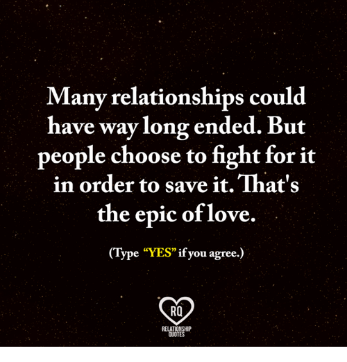 Many Relationships Could Have Way Long Ended but People ...