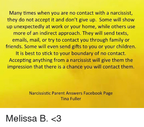 Many Times When You Are No Contact With a Narcissist They Do Not