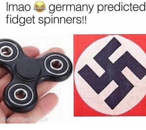 Memes, Germany, and Mao: mao germany predicted  fidget spinners!!  @Wait howthe