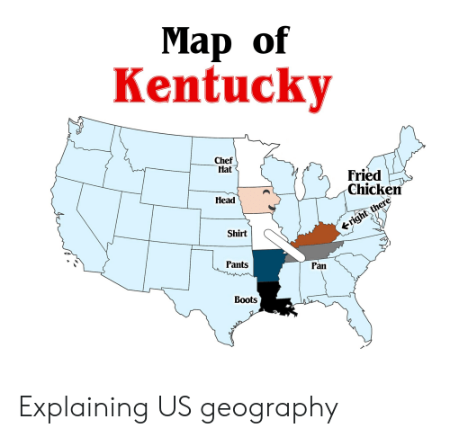 Chef In Us Map Map Of Usa Kentucky Chef   universe map travel and codes